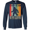 Image of Hide & Seek World Champion Shirt Bigfoot Is Real Retro Funny