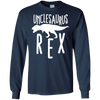 Image of Unclesaurus Rex Uncle Long Sleeve Gift from Baby/Siblings