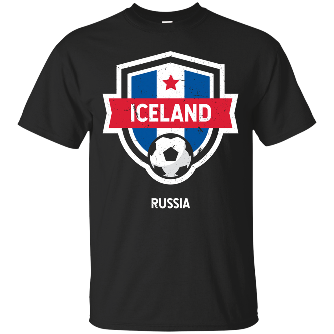 Classic Iceland Football 2018 Team, Russia