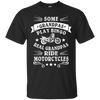 Image of Mens MOTORCYCLE BIKER GRANDPA cool designed easy rider T-Shirt