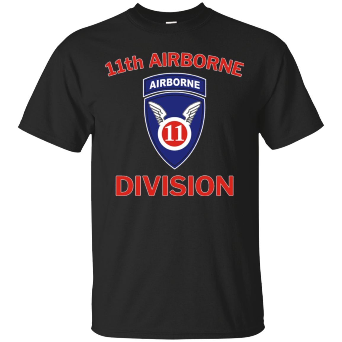 US Army 11th Airborne Division Vintage T-Shirt