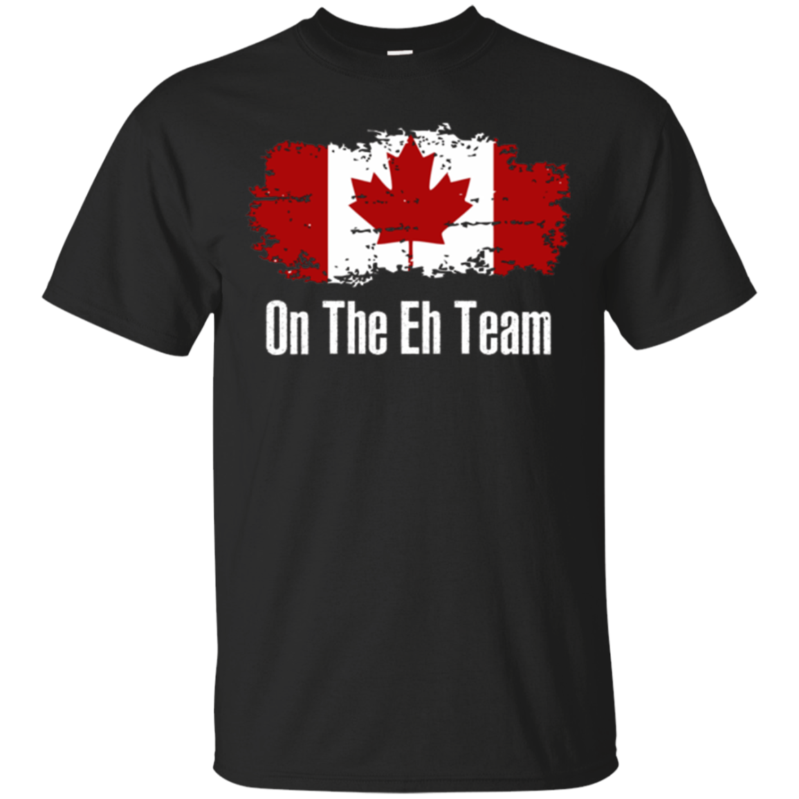 Funny On The Eh Team Canada T-shirt - Canadian Leaf Pride