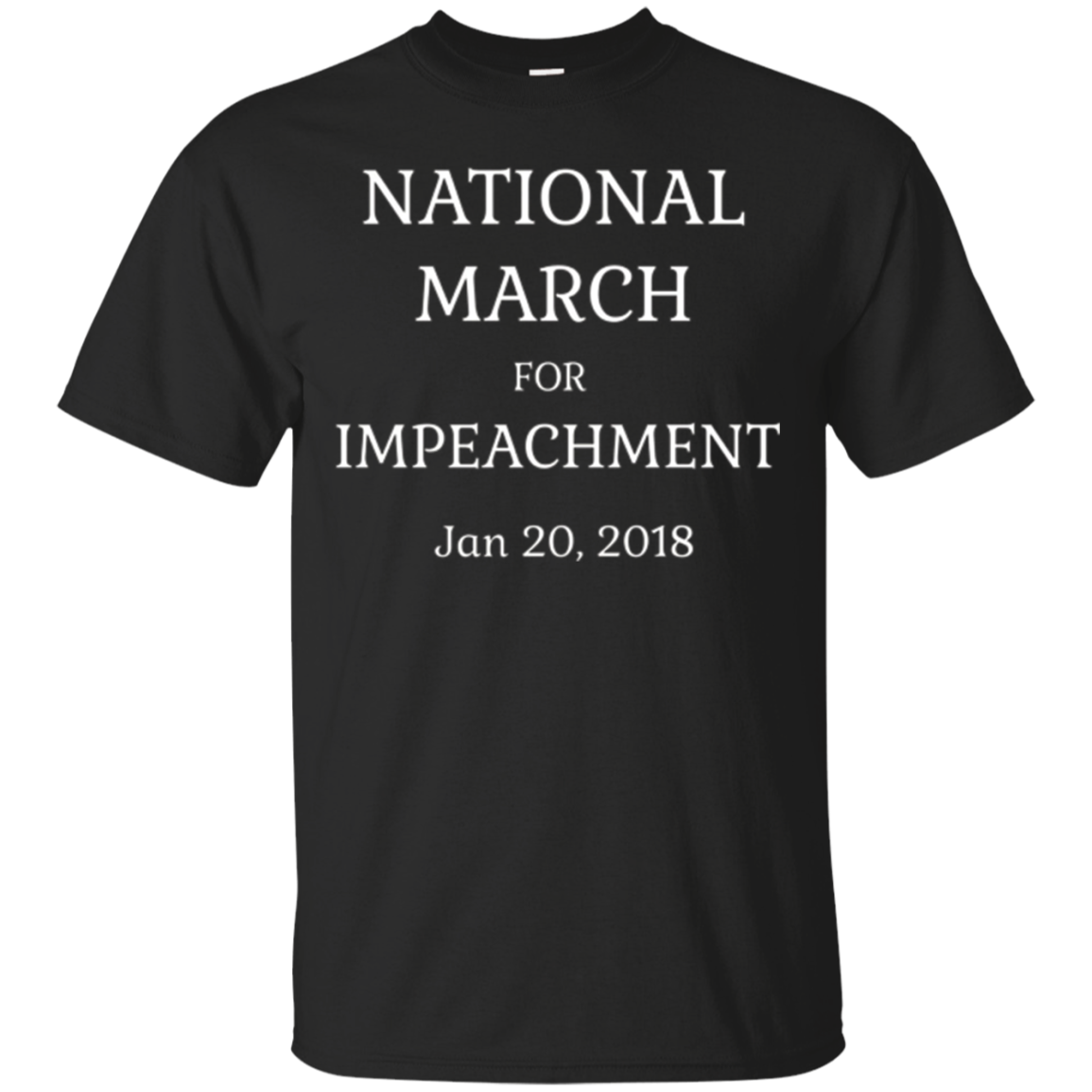 National March Impeachment Anti Trump T Shirt Tshirt Tee