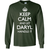 Image of Let Daryl Handle It Keep Calm Funny Top T-shirt
