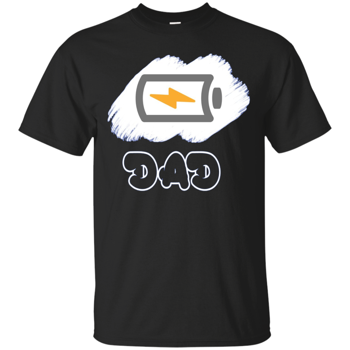 Low Battery Dad New Parents Long Sleeve Shirt