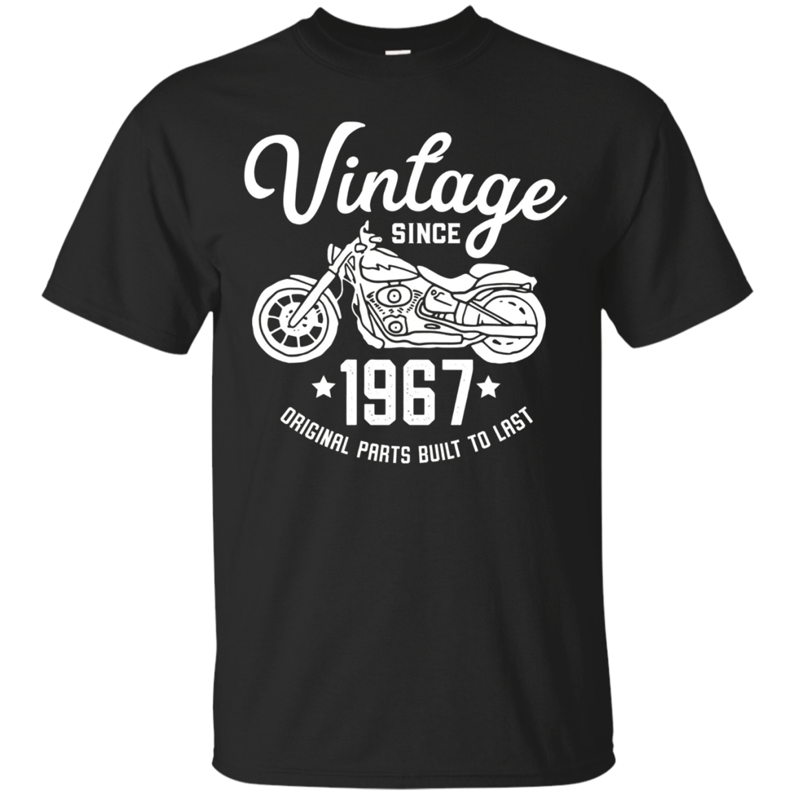 51th Birthday Vintage Retro Motorcycle 1967 Rider T-shirt