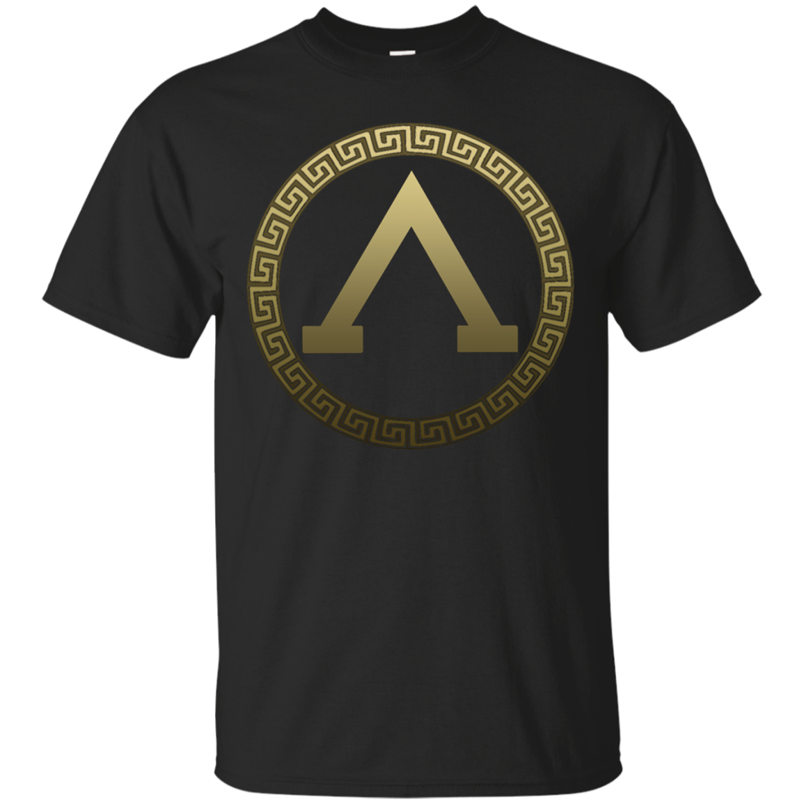 Spartan Elite Gold Shield T-shirt