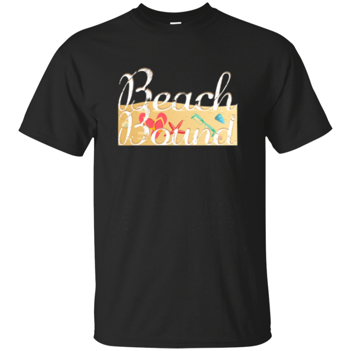 Beach Bound Long Sleeve T-Shirt Ocean Sand Sun Water Travel