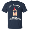 Image of It's My Birthday Pug T-shirt