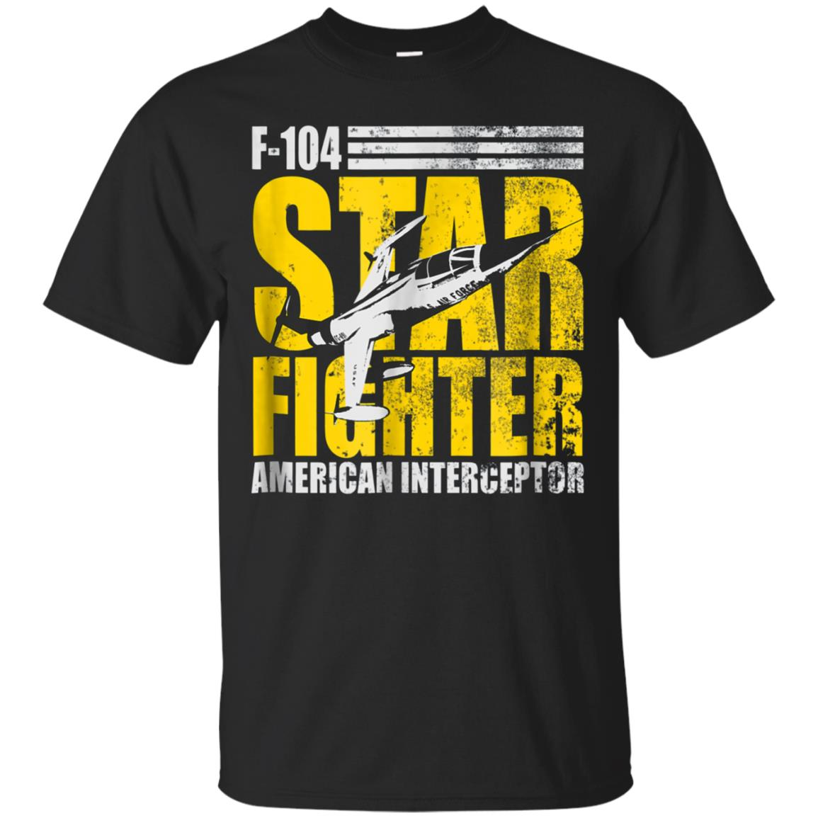 Air Force Fighter T shirt - F-104 Starfighter
