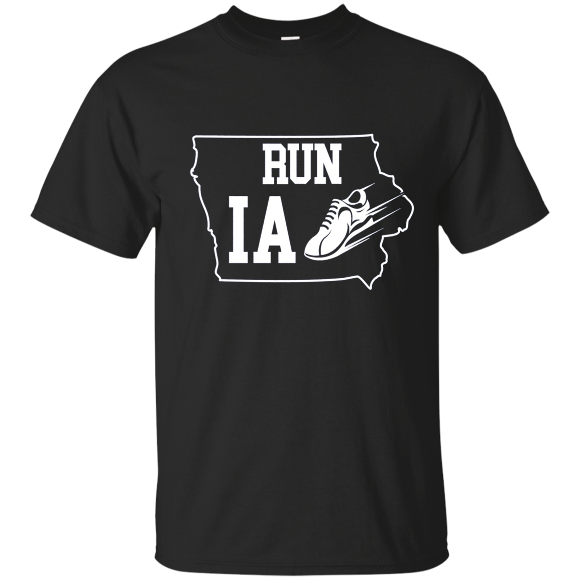 Running Shirt Run Iowa Runners T-Shirt