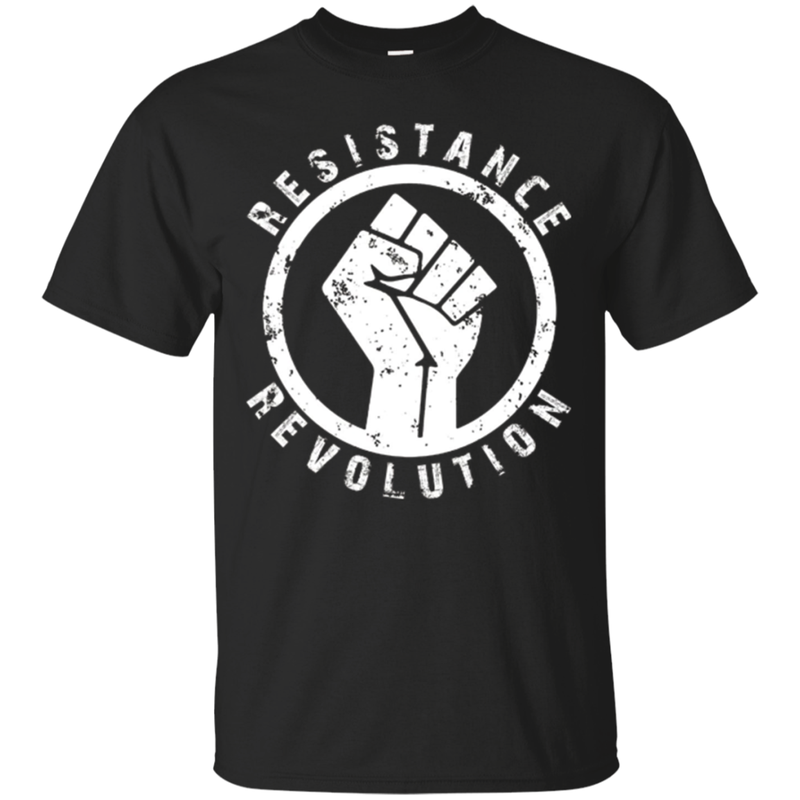 Resistance Revolution Civil Rights Black Power Fist T-Shirt