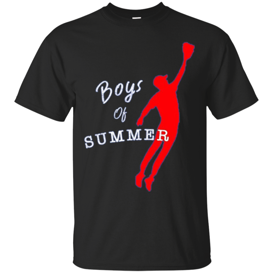 Boys of Summer Red Outfielder t-Shirt
