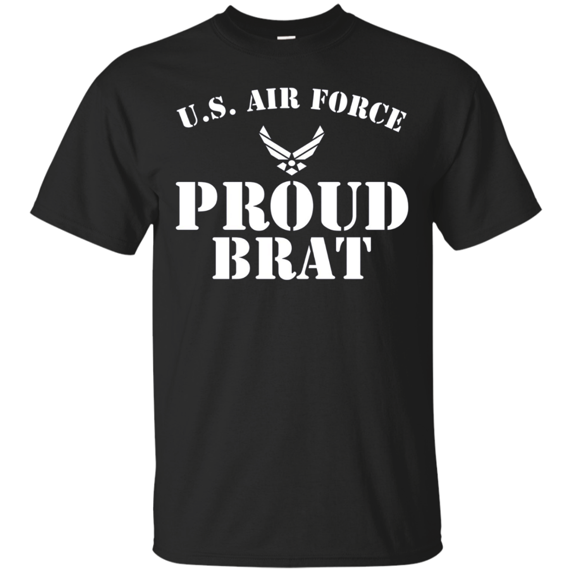 Pride Military - Proud U.S. Air Force Brat Soldier T-shirt
