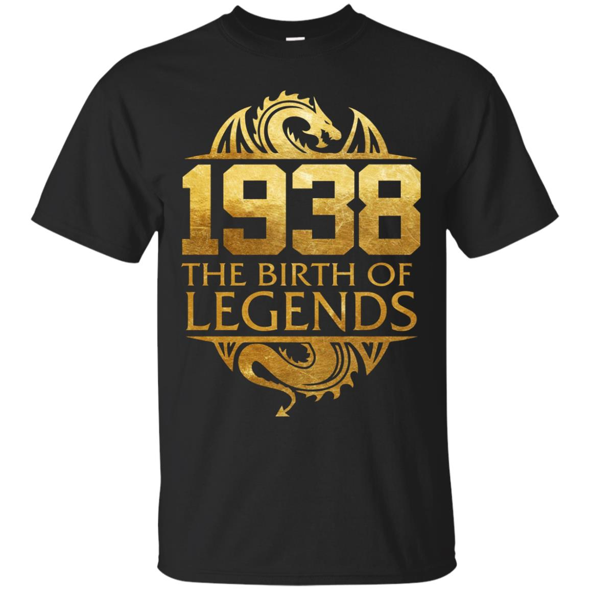 1938 The Birth Of Legends Vintage Classic 80 Yrs Years Old