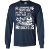 Image of But Only The Finest Grandmas Ride Motorcycles T Shirt