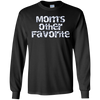 Image of Mom's Other Favorite Kid Long Sleeve Tee ~ Funny Child