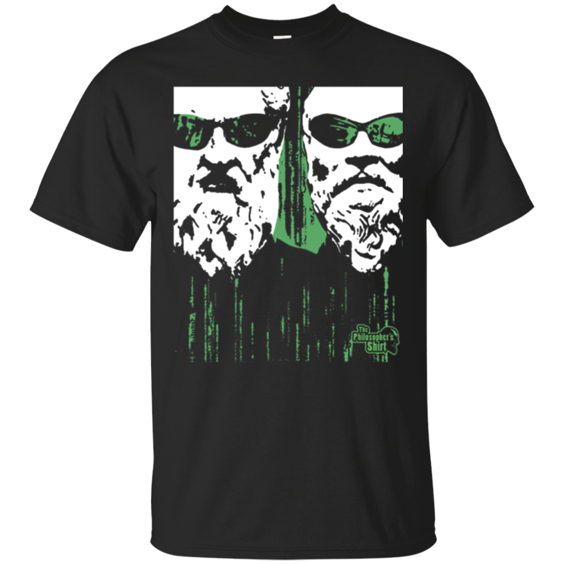 Plato and Socrates Matrix Cave Allegory - Philosopher Shirt