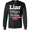 Image of Hillary Clinton For Prison 2016 T-Shirt for Republicans