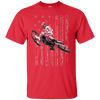 Image of American Flag Motocross Dirt Bike Graphic T-shirt