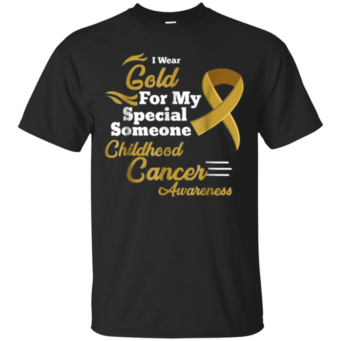 Wear for My Special Someone Childhood Cancer Awareness Shirt