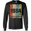 Image of Vintage Virgo 1984 T-Shirt 33 yrs old Bday 33rd Birthday Tee