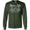 Image of Mom Life Mother Description Job Title Family Wife T Shirt