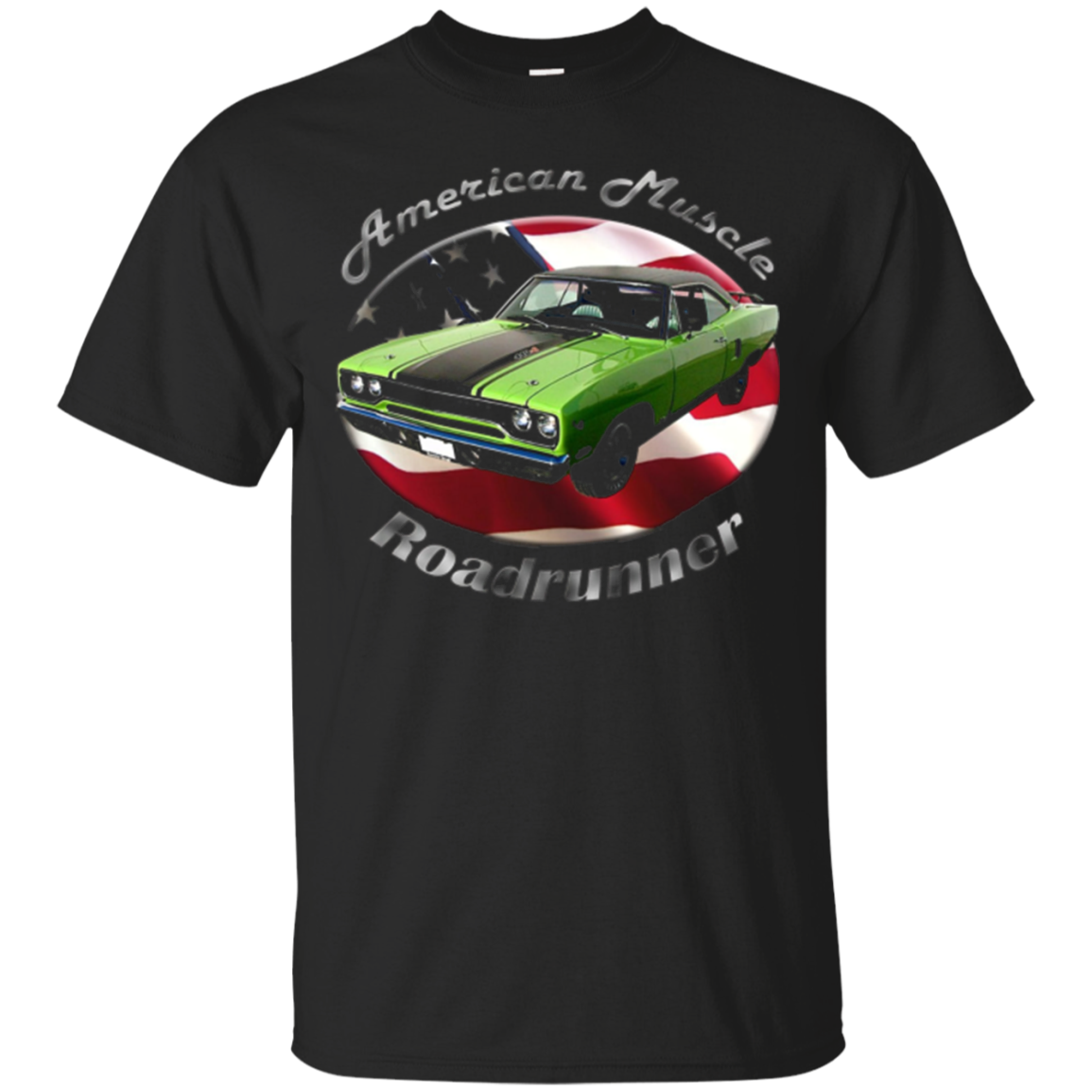 Roadrunner Muscle Car American Muscle T-Shirt