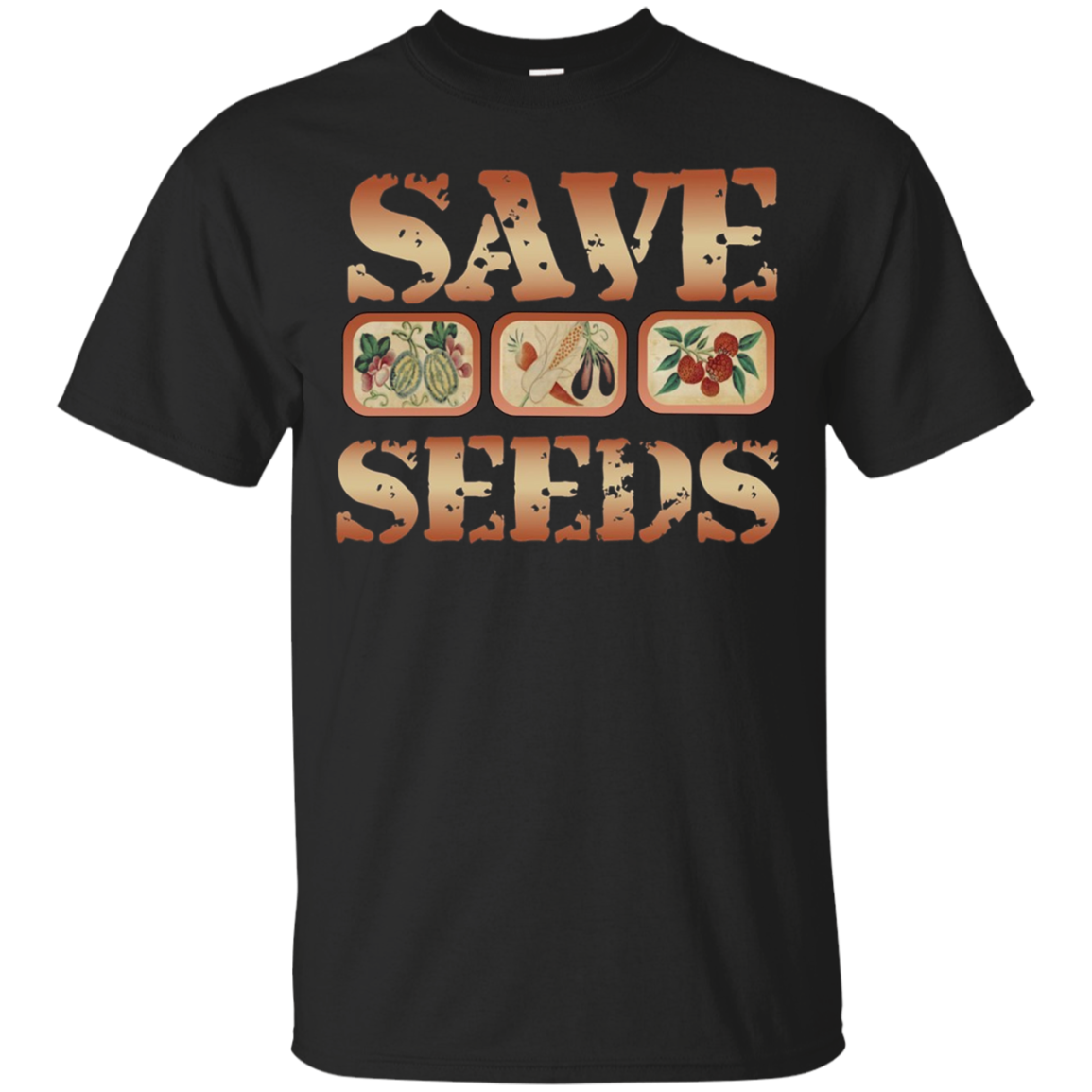 Save Seeds Gardening T Shirt