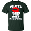 Image of Pilots Make The Best Kisser Long Sleeve Shirt Valentine's