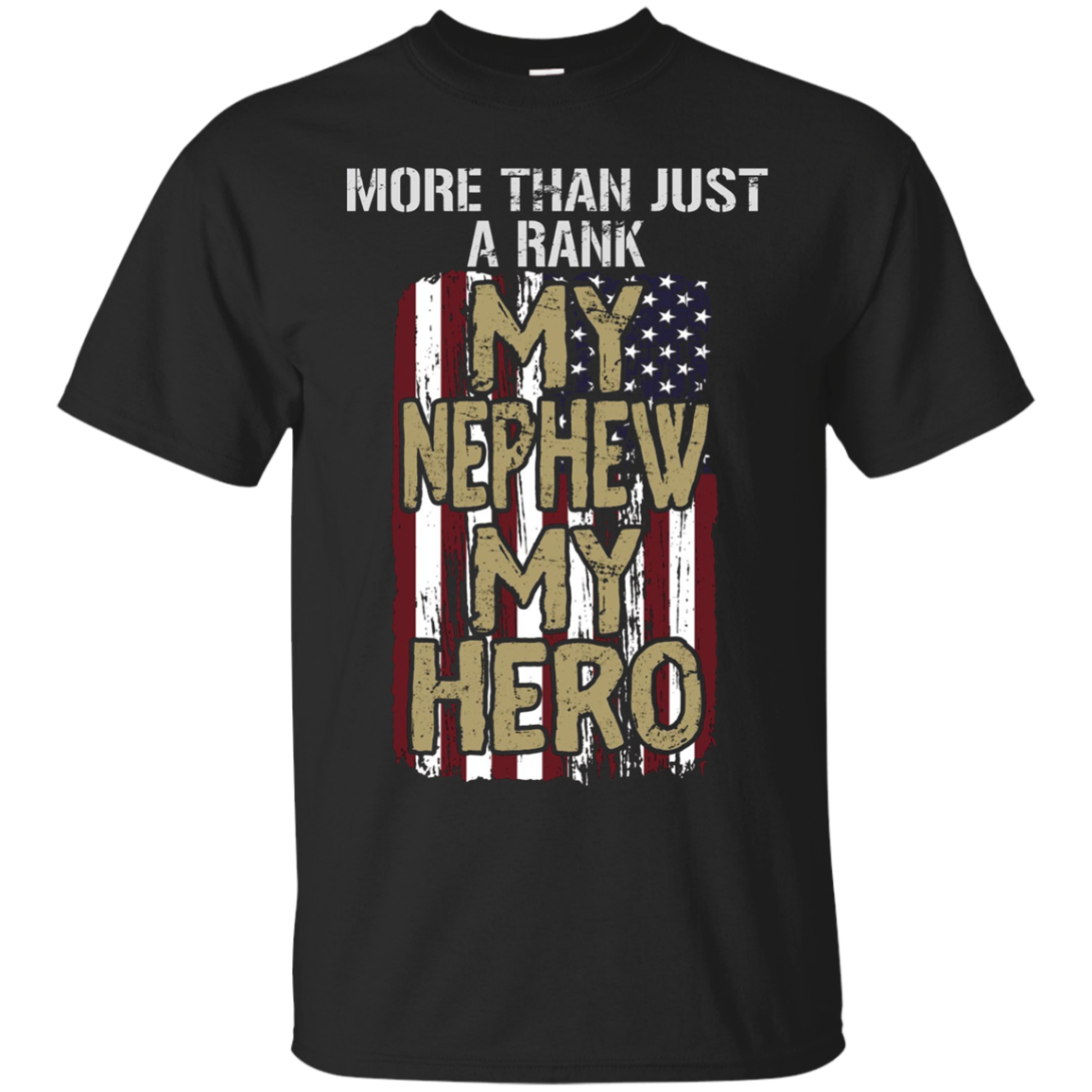 Military Nephew - My Hero T-Shirt