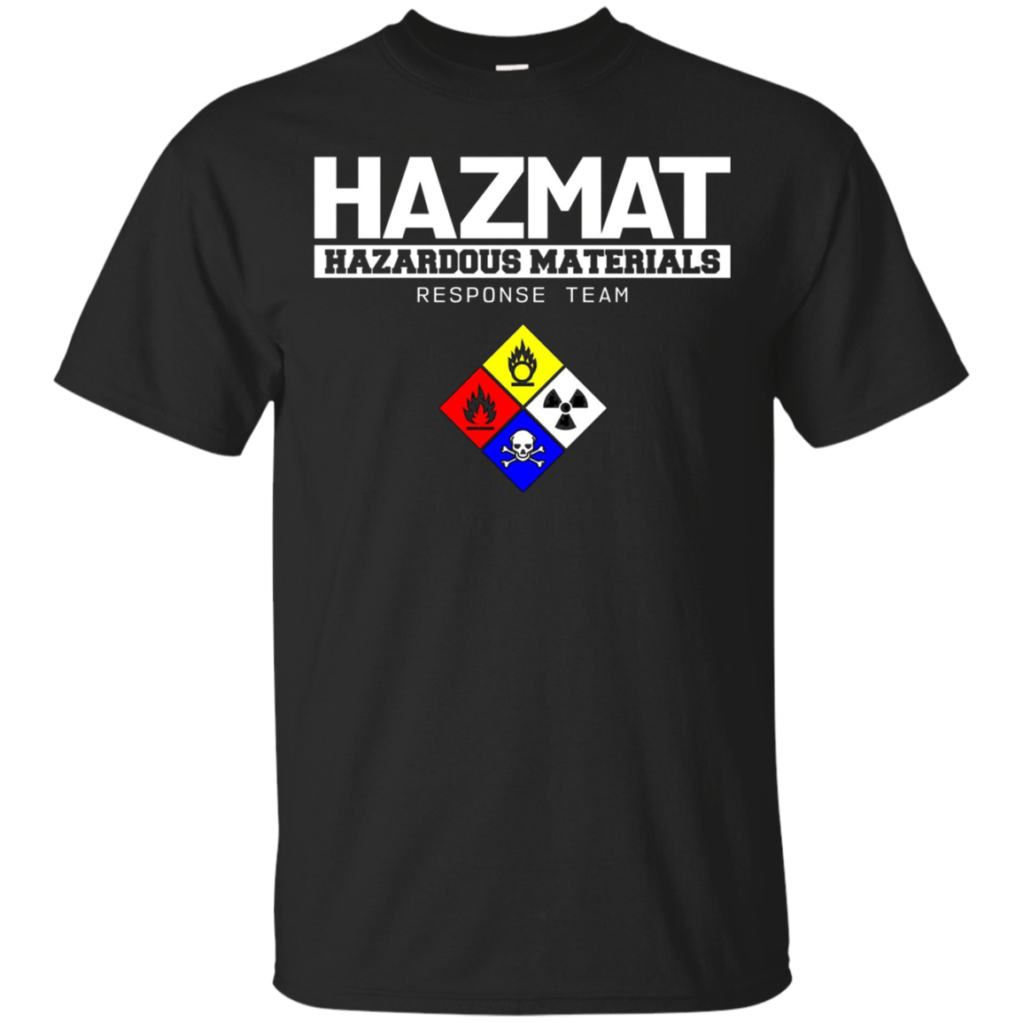 HAZMAT Hazardous Material Response Team Technician Shirt