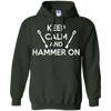 Image of Keep Calm and Hammer On T Shirt
