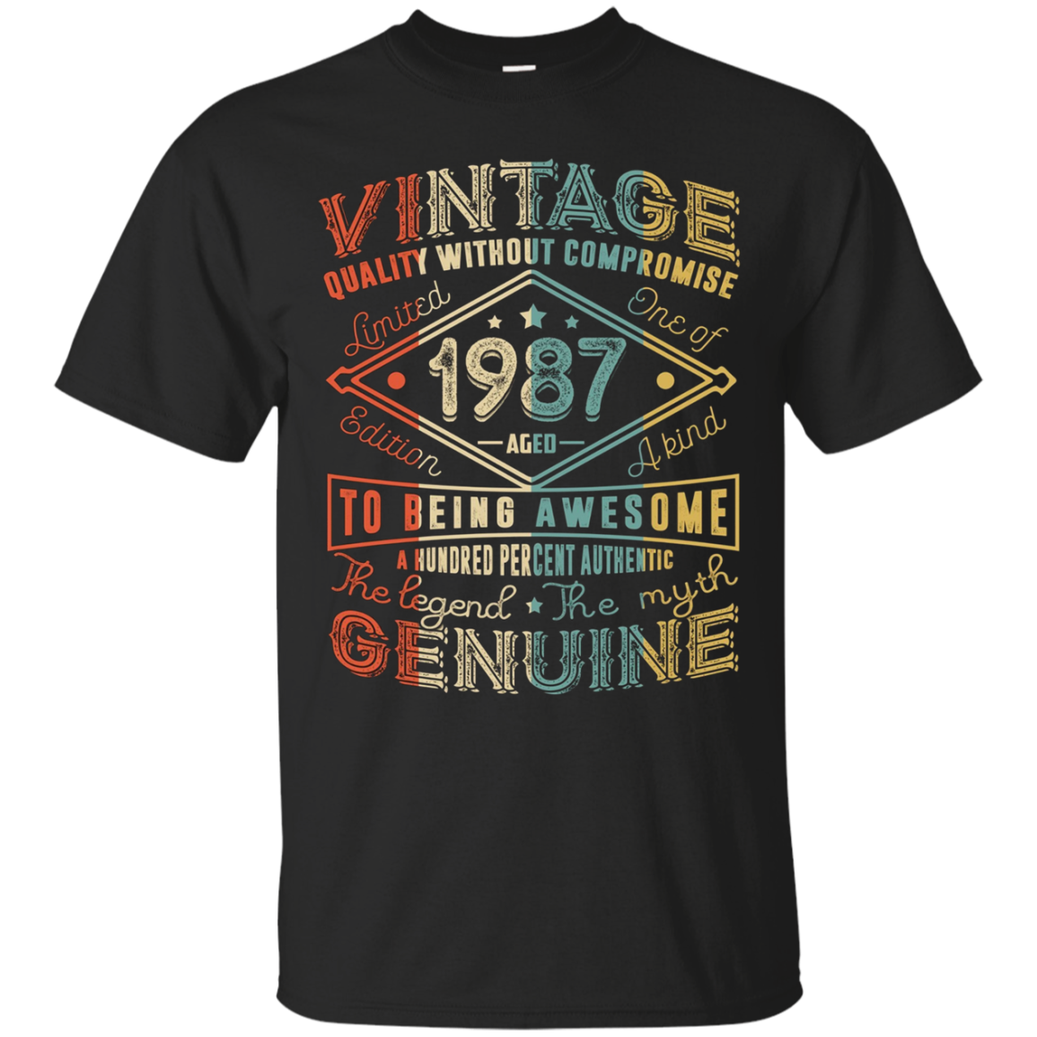 Vintage Genuine Retro Made In 1987 30th Birthday Gift 30 yrs