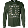 Image of Sewing shirt- Let it sew christmas ugly sweater shirt