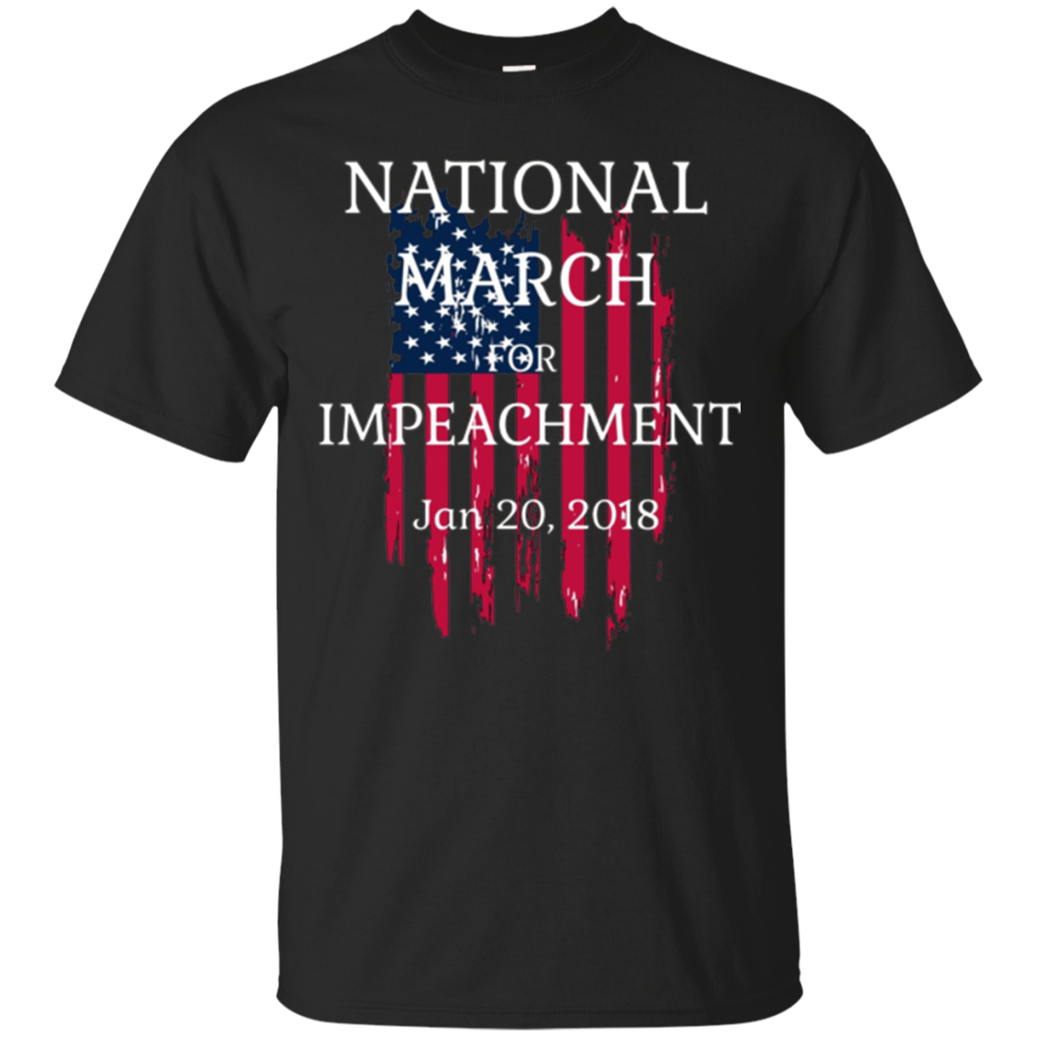 National March Impeachment Anti Trump Resistance T Shirt
