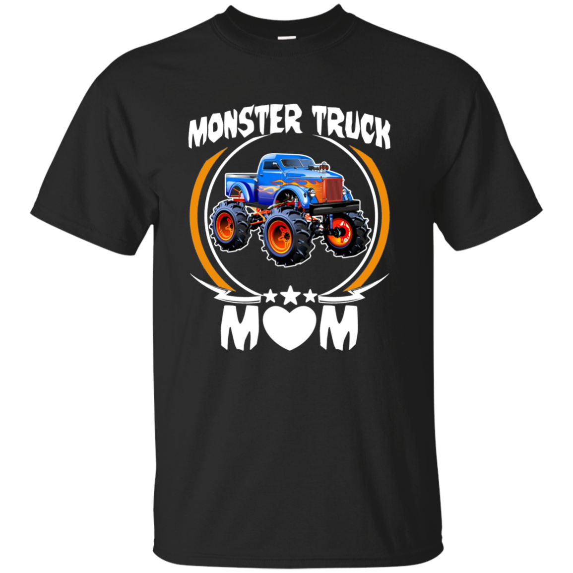 Monster Truck Driver Mom Long Sleeve Shirt Mothers Day Gifts