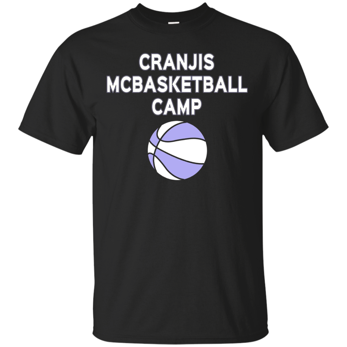 Cranjis McBasketball Camp T-shirt