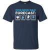 Image of New Dad Forecast Expecting Dad 2018 Fathers Tshirt