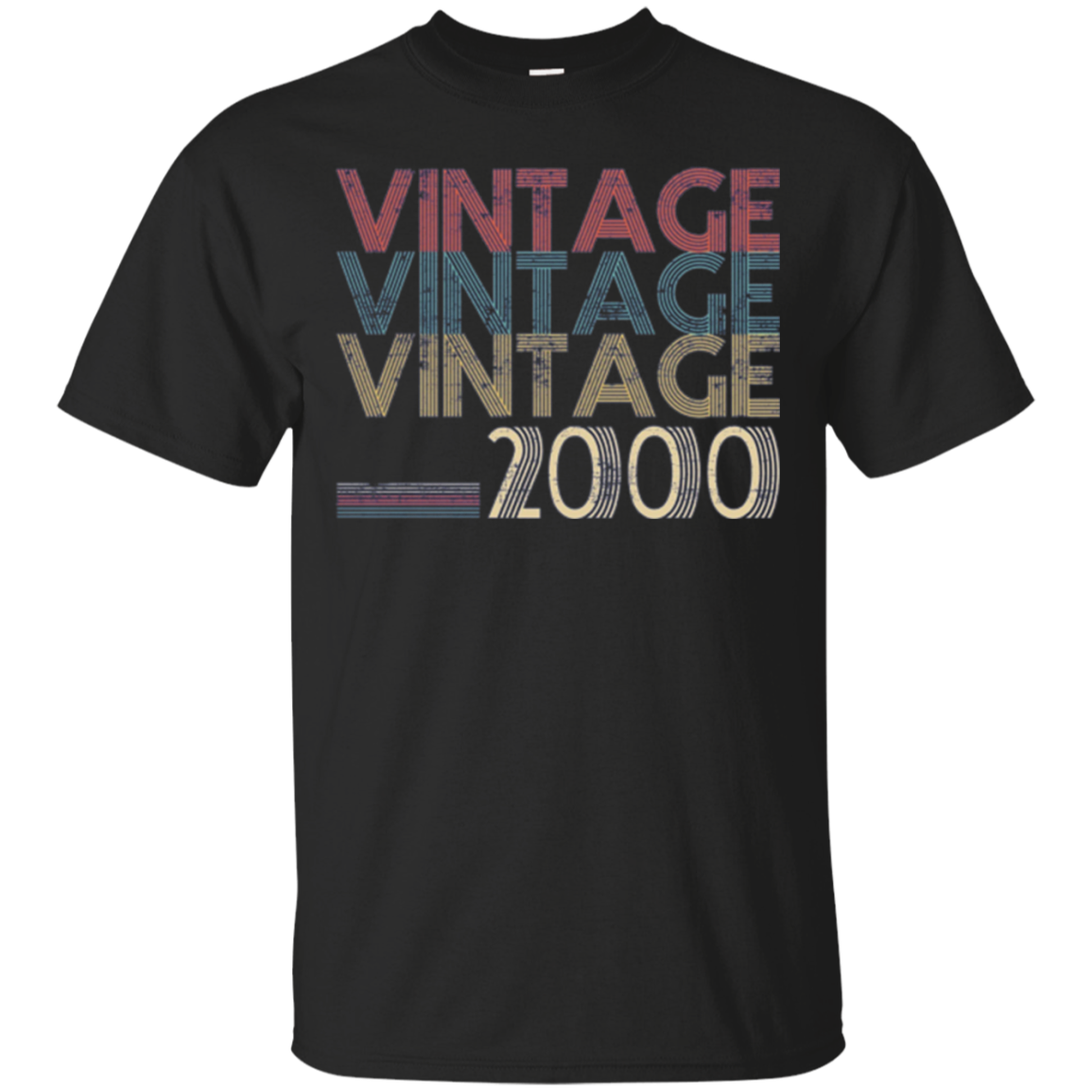 Retro Classic Vintage Born In 2000 - 18th Gift 18 Years Old