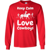 Image of Cowboy Shirt | Keep Calm and Love Cowboys