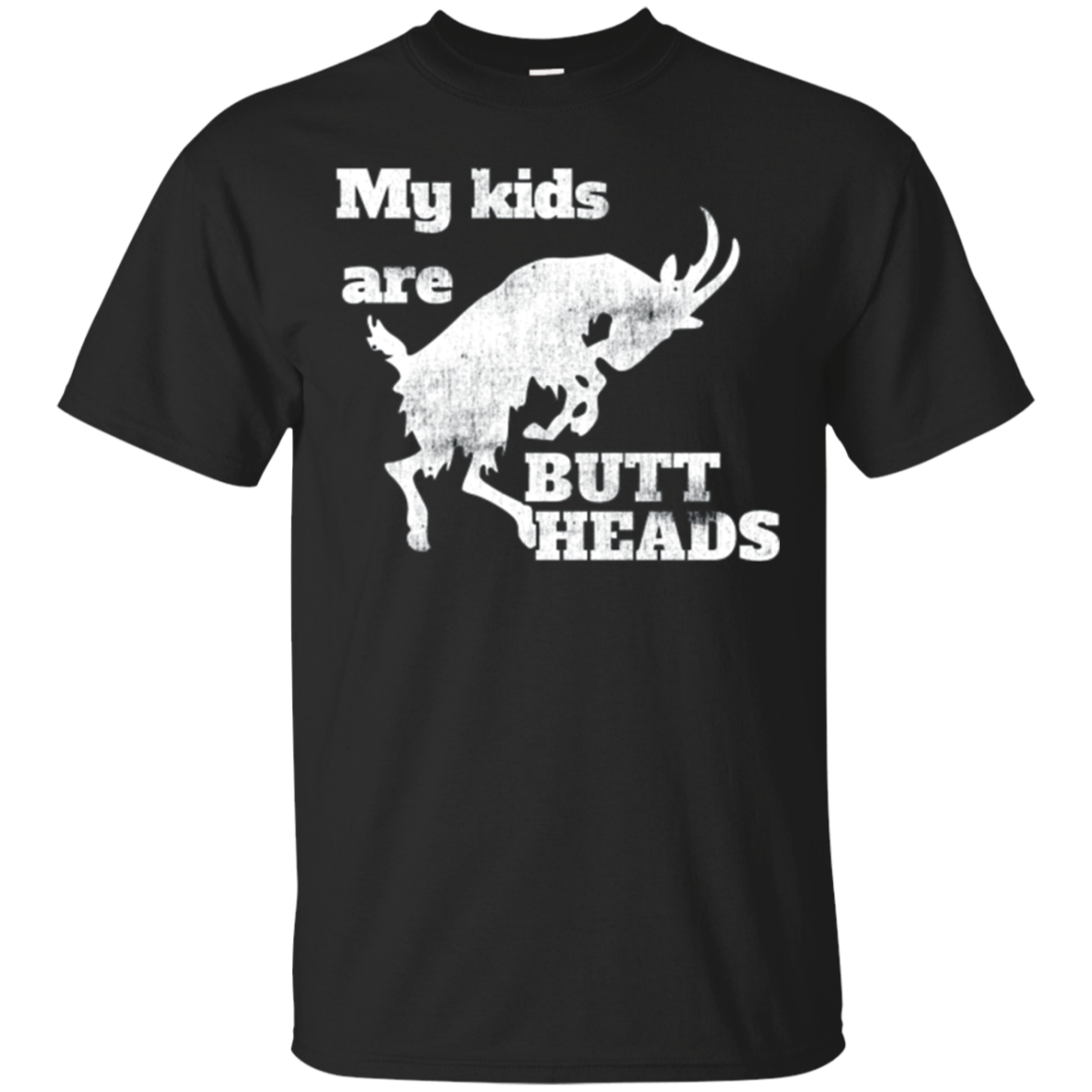 Goat Owner Gift - My Kids are Buttheads Shirt