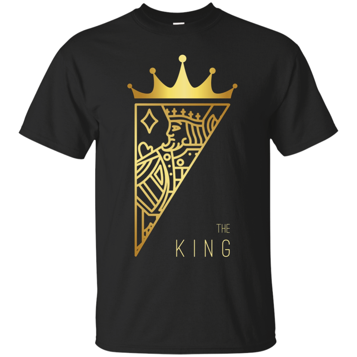 The King Card Funny T-Shirt Cute Couple Lover Gift