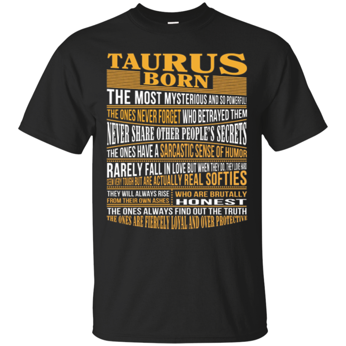 #1 Top selling Taurus Zodiac Sign Facts Shirts for all ages