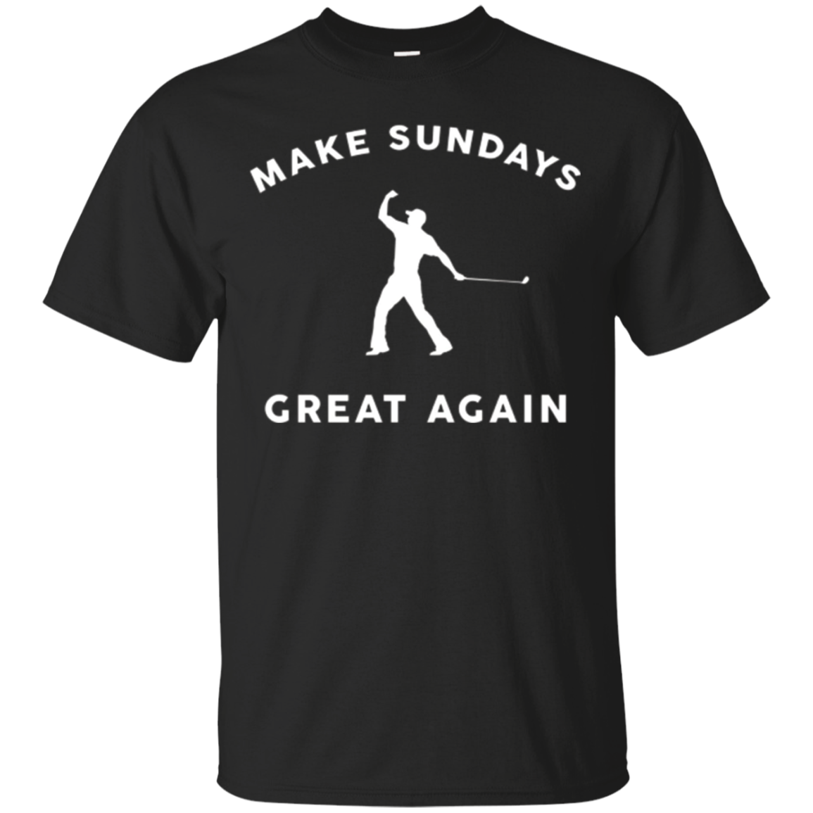 Make Sundays Great Again Golf Shirt