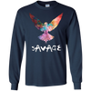 Image of Be a Maverick - Be a Savage - Bird in Flight T-Shirt