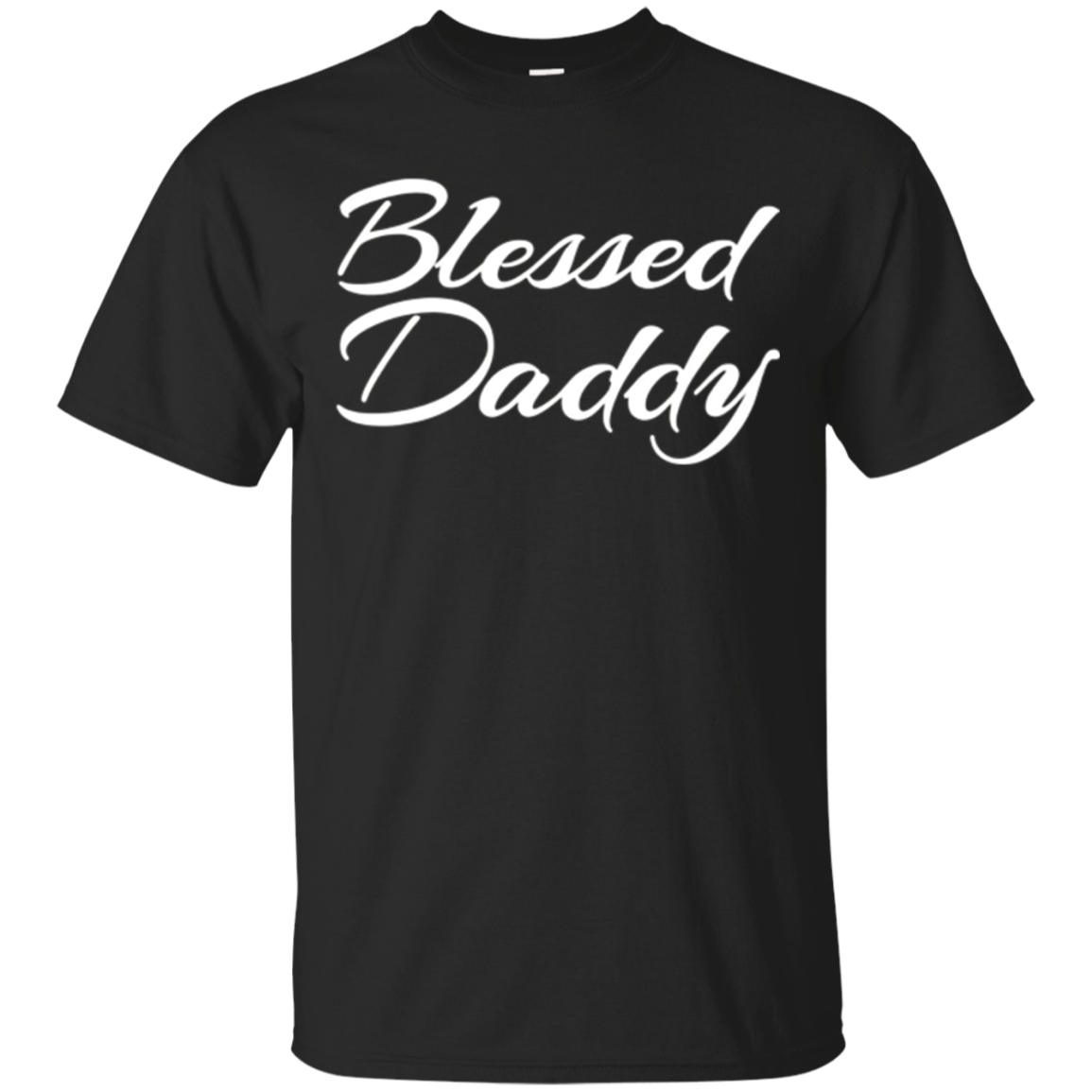 Mens Blessed Daddy Shirt