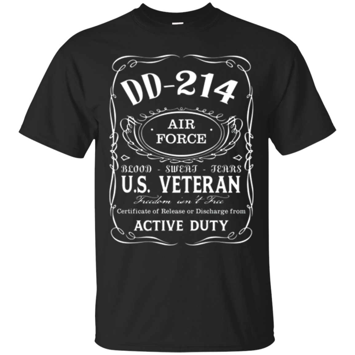Air Force DD-214 Alumni T-Shirt