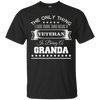 Image of I Love More Than Being A Veteran Is Being A Granda T-Shirt