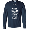 Image of Keep Calm And Stare At The Sun Total Solar Eclipse T-Shirt